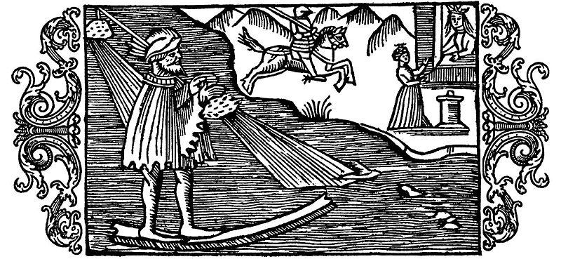 ¿Quién era el dios del esquí?
