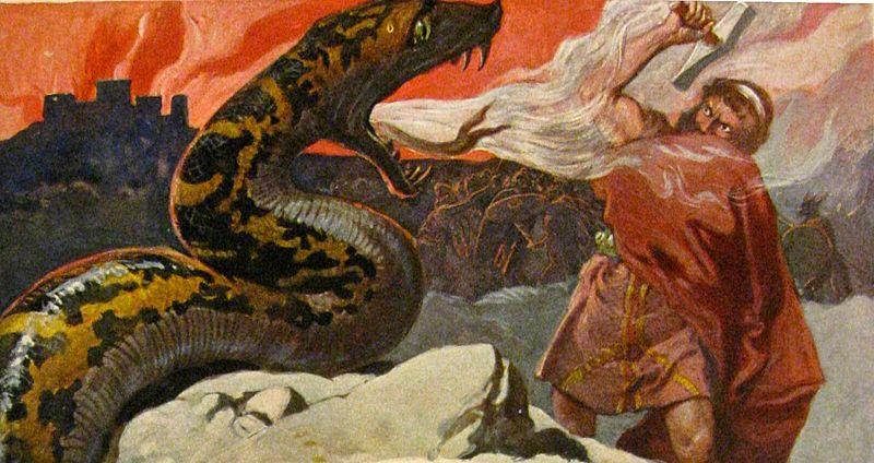 Thor y Jörmundgander