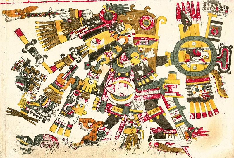 El mito de Tezcatlipoca